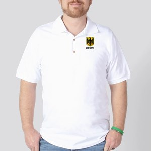 German Coat of Arms Golf Shirt