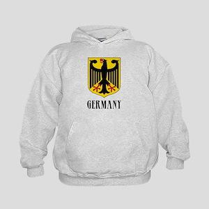 German Coat of Arms Kids Hoodie