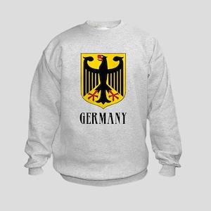 German Coat of Arms Kids Sweatshirt