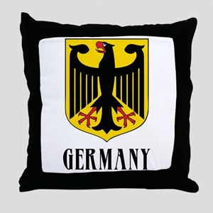 German Coat of Arms Throw Pillow