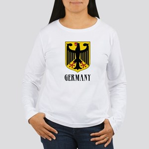 German Coat of Arms Women's Long Sleeve T-Shirt