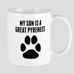 My Son Is A Great Pyrenees Mugs