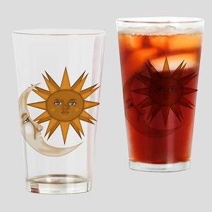 SunNMoon Drinking Glass