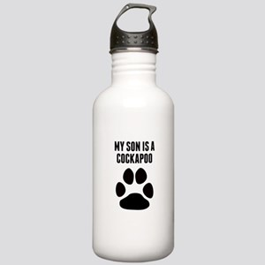 My Son Is A Cockapoo Water Bottle