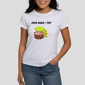 Custom Cartoon Drum T-Shirt