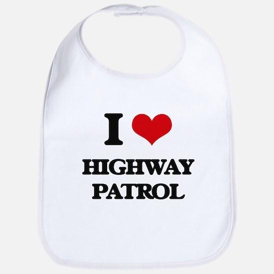 I Love Highway Patrol Bib