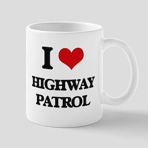 I Love Highway Patrol Mugs