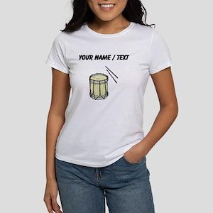 Custom Drum And Sticks T-Shirt
