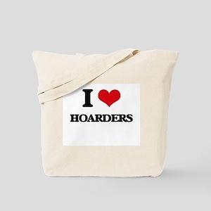 I Love Hoarders Tote Bag