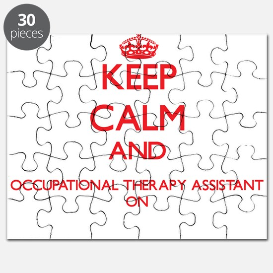 Keep Calm and Occupational Therapy Assistan Puzzle
