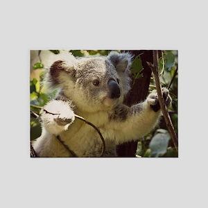 Sweet Baby Koala 5'x7'Area Rug