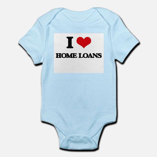 I Love Home Loans Body Suit