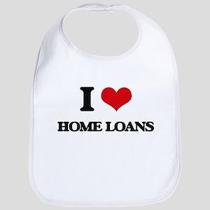 I Love Home Loans Bib