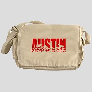 Austin Bats Messenger Bag