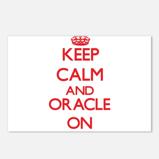 Keep Calm and Oracle ON Postcards (Package of 8)