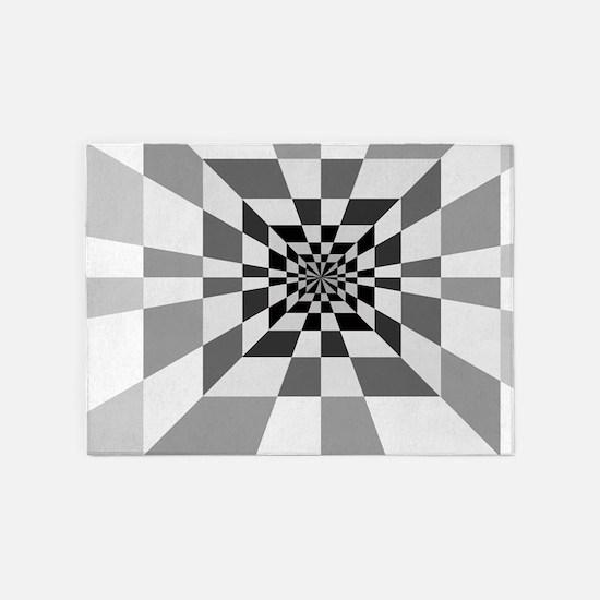 rug op area optical rugs hall illusions x7 indoor outdoor