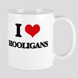 I Love Hooligans Mugs