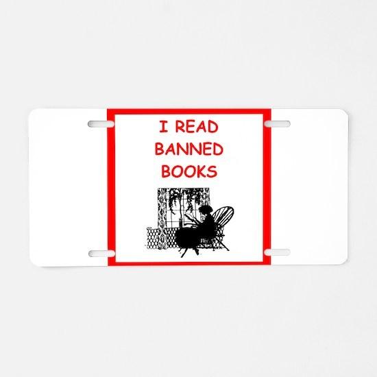 reading Aluminum License Plate