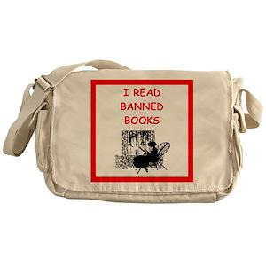 Banned Books Messenger Bags - CafePress 940edd101079b