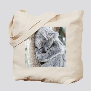 Sleeping Koala baby Tote Bag