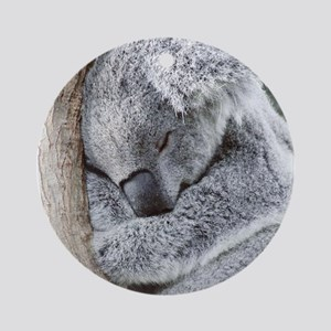 Sleeping Koala baby Ornament (Round)