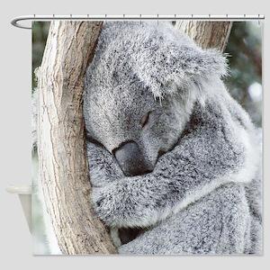 Sleeping Koala baby Shower Curtain