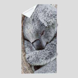 Sleeping Koala baby Beach Towel