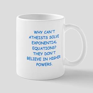 atheist math Mugs