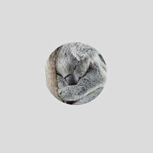 Sleeping Koala baby Mini Button