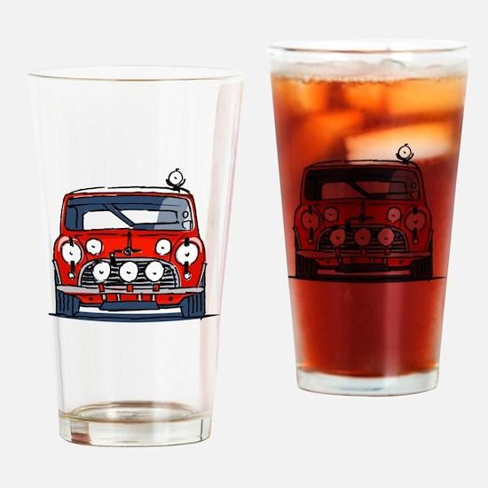 Cute Rally Drinking Glass