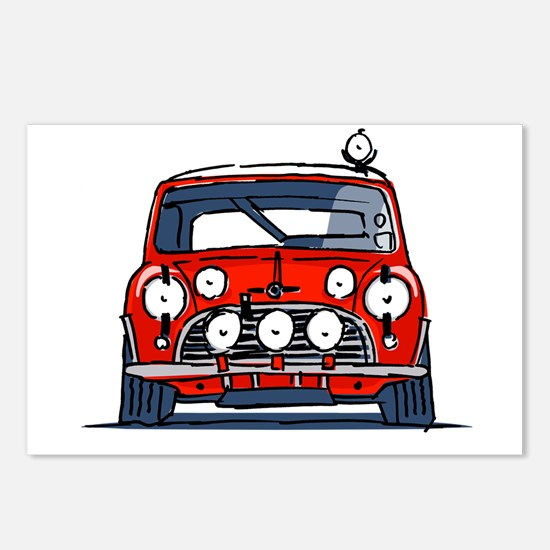 Funny Drifting Postcards (Package of 8)