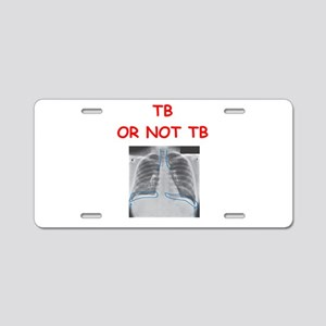 radiology Aluminum License Plate