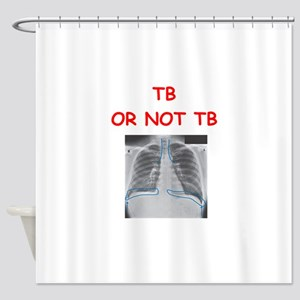radiology Shower Curtain