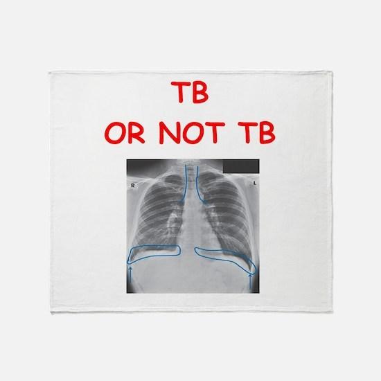 radiology Throw Blanket