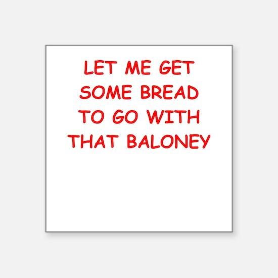 baloney Sticker