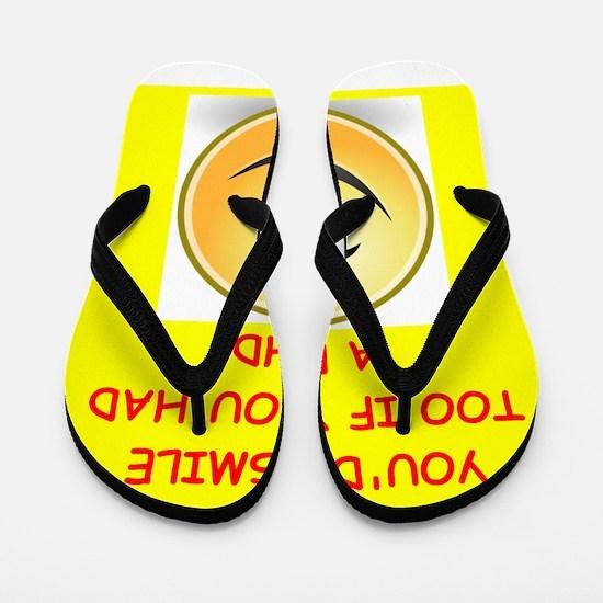 phd joke Flip Flops