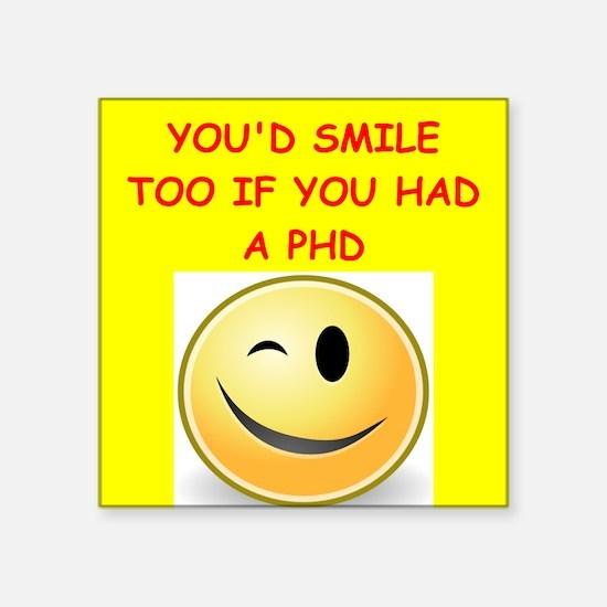 phd joke Sticker