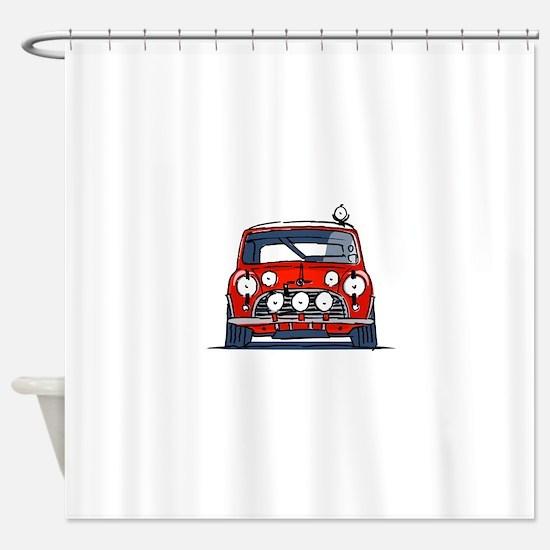 Mini Cooper Shower Curtain