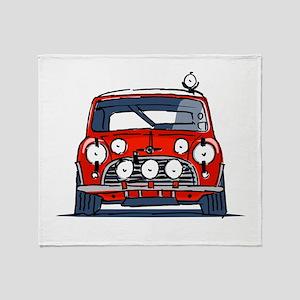 Mini Cooper Throw Blanket