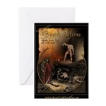 Inferno Official Poster Greeting Cards (Package of