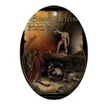 Inferno Official Poster Oval Ornament