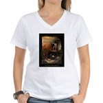 Inferno Official Poster Women's V-Neck T-Shirt