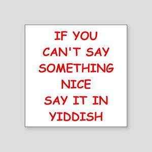 yiddish Sticker
