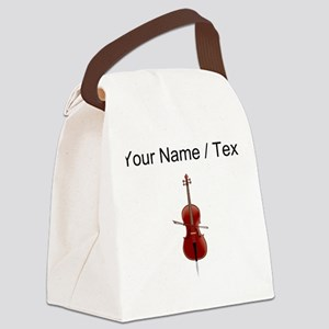 Custom Cello Canvas Lunch Bag