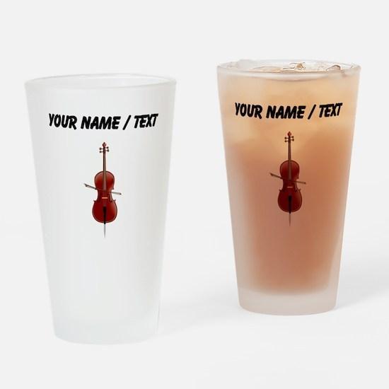 Custom Cello Drinking Glass