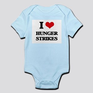 I Love Hunger Strikes Body Suit