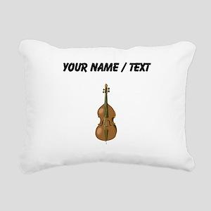 Custom Cello Rectangular Canvas Pillow