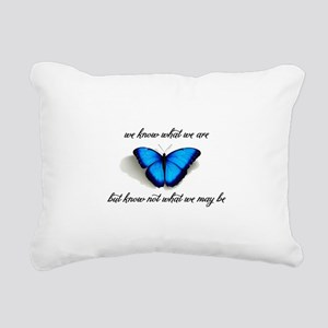 What We May Be Rectangular Canvas Pillow