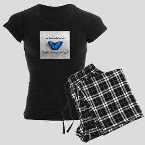 What We May Be Women's Dark Pajamas