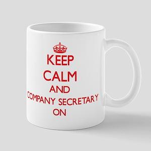 Keep Calm and Company Secretary ON Mug